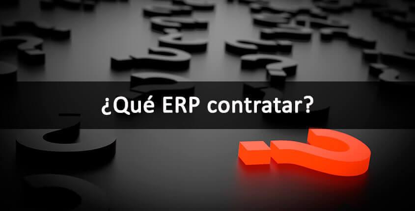 ¿Qué ERP contratar? ¿RPS? – Lo que no puedes olvidar