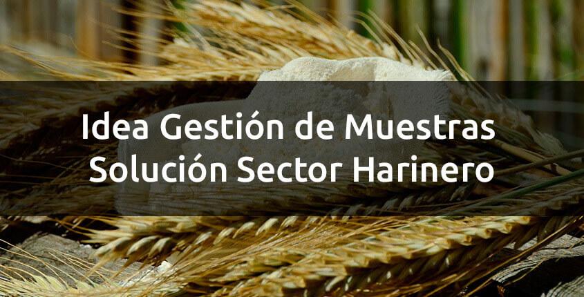 gestion de muestras solcuion sector harinero