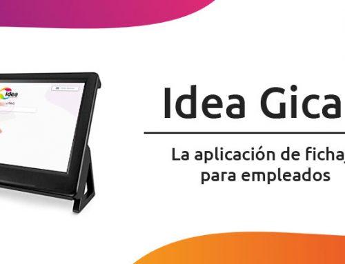 El módulo de Fichajes de Empleados de IDEA GICAP